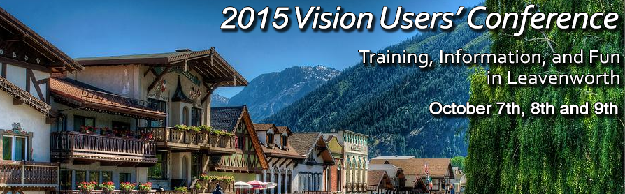 The 2015 Vision Users' Conference