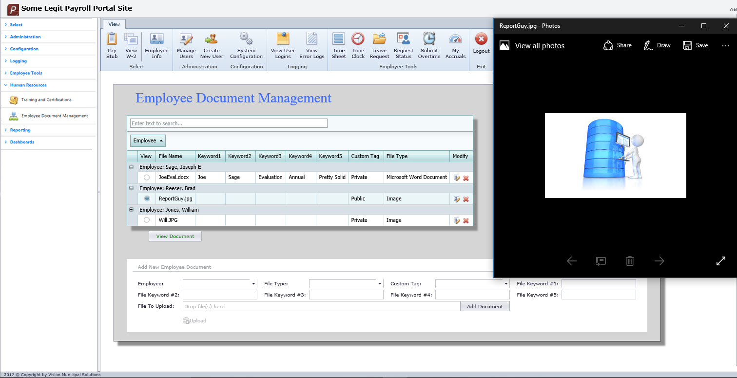 Employee Document Management